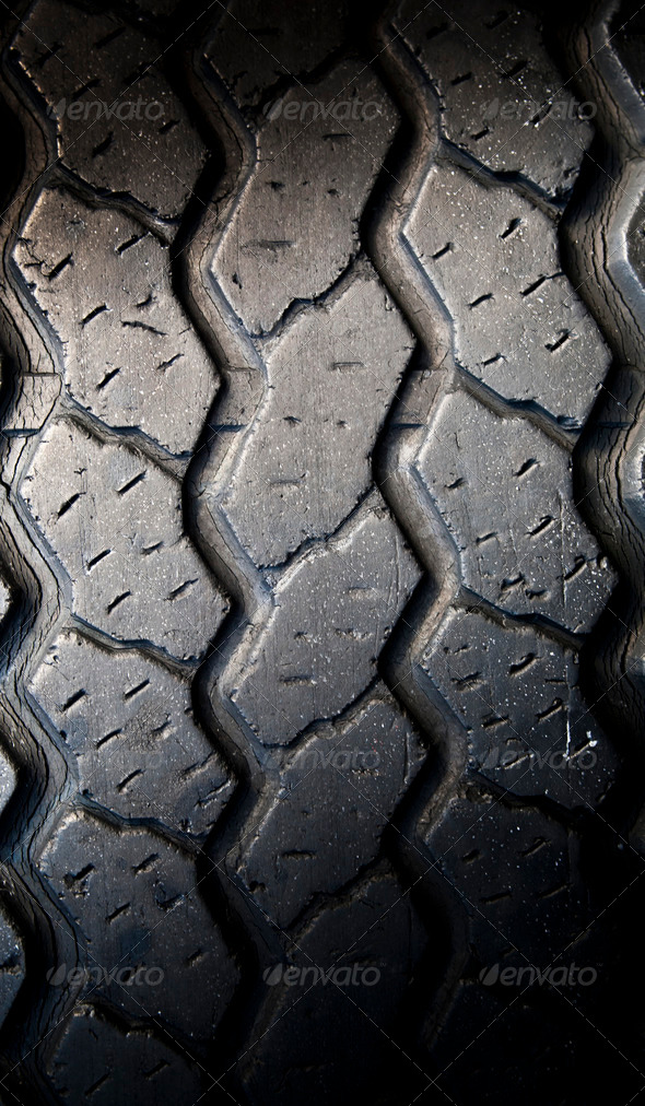 Tyre Tread - Stock Photo - Images