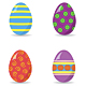 16 Different Easter Eggs  - GraphicRiver Item for Sale