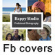 6 Photography & fashion FB Covers - GraphicRiver Item for Sale