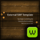 External SWF Template - ActiveDen Item for Sale