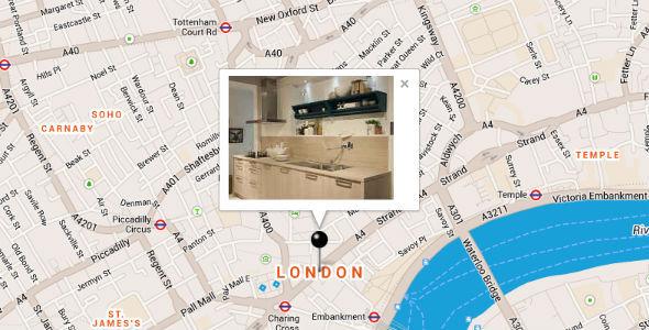 CodeCanyon Google Maps with Infowindow-Slideshow 7174877