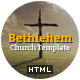Bethlehem - Church Bootstrap 3 HTML5 Template - ThemeForest Item for Sale