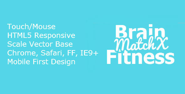 CodeCanyon HTML5 BrainFitness MatchX 7184720