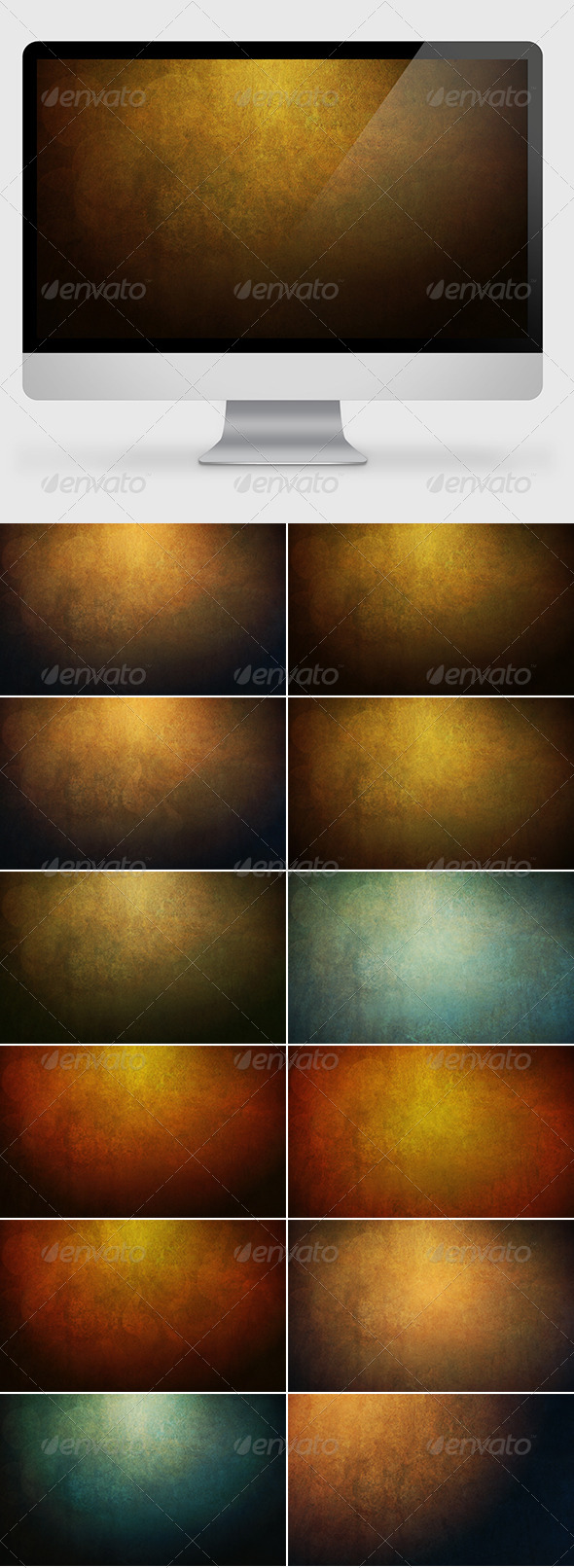 GraphicRiver Grunge Backgrounds Wallpapers 7218188
