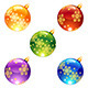 Bright Christmas decorations - GraphicRiver Item for Sale