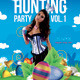 Easter Special Rabbit Hunting Season Party - GraphicRiver Item for Sale