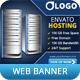 Web Hosting Company Ad Web Banner - GraphicRiver Item for Sale