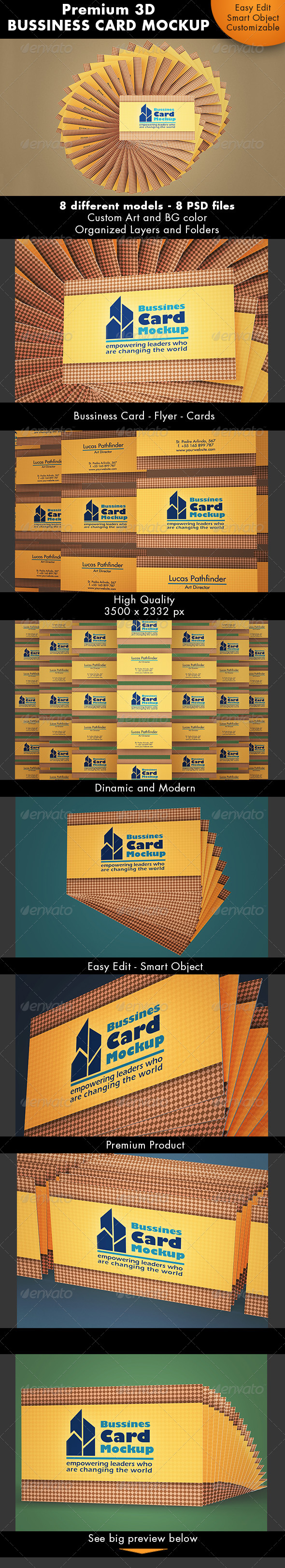 Bussiness Card Mockup - Business Cards Print