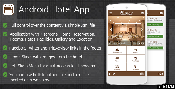 Android Hotel App