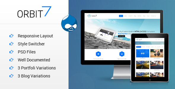 Orbit7 - Multipurpose Responsive Drupal Theme