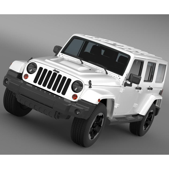 Jeep Wrangler Polar 2014   - 3DOcean Item for Sale