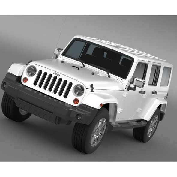 Jeep Wrangler Unlimited Indian Summer 2014 - 3DOcean Item for Sale
