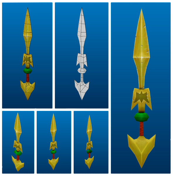 Stylish Sword 05 - 3DOcean Item for Sale