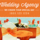 Wedding Agency Facebook Timeline Cover Template - GraphicRiver Item for Sale