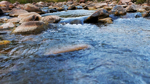 Stream Flowing Water 02