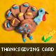 Handmade Plasticine Thanksgiving Card - GraphicRiver Item for Sale
