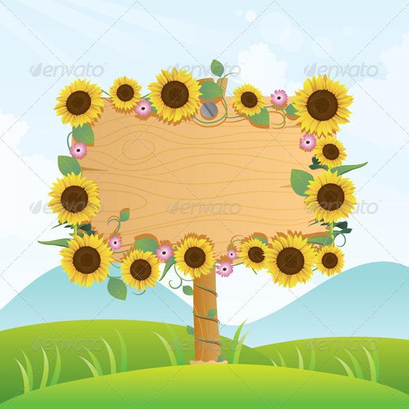 Summer Wood Signage