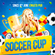 Soccer Cup party poster - GraphicRiver Item for Sale