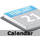 Calendar: shows current date - ActiveDen Item for Sale