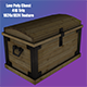 Low Poly Treasure Chest 3D Model