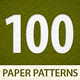 100 tileable paper patterns - GraphicRiver Item for Sale
