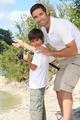 father and son fishing - PhotoDune Item for Sale