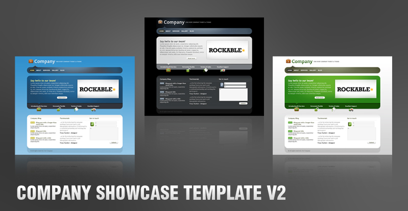 Company Showcase Template V2