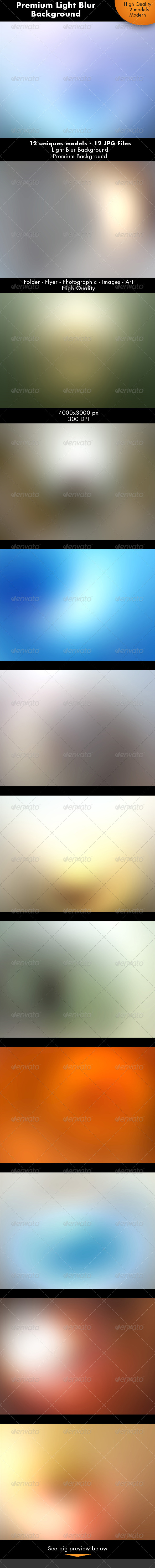 Light Blur Background - Abstract Backgrounds