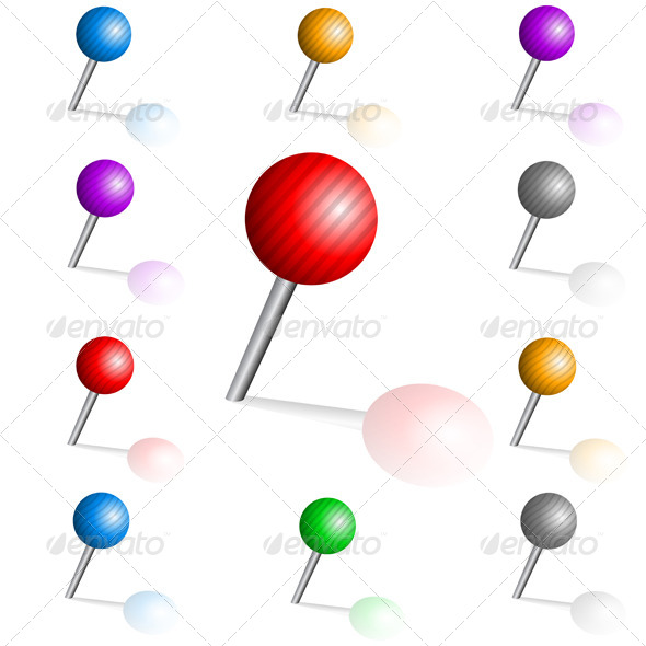 Color Pins