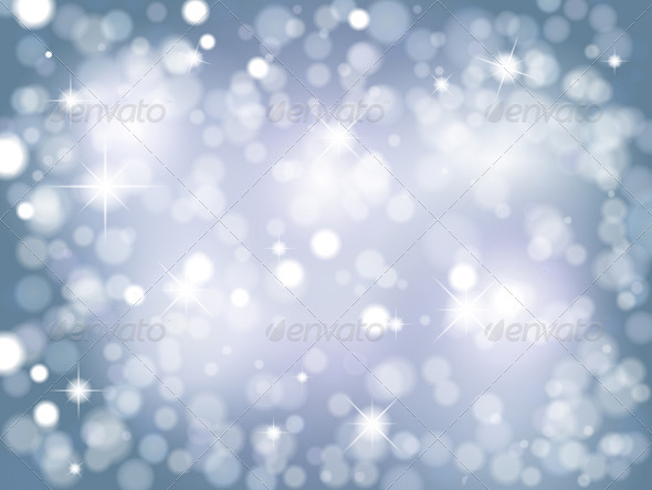 GraphicRiver Christmas lights background 757194