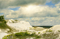 Dry dunes under the blue sky - PhotoDune Item for Sale