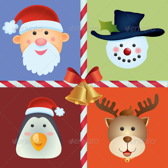 Christmas Icon Background