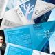Blue & Gray Tri-Fold - GraphicRiver Item for Sale