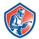 Welder Fabricator Welding Logo  - GraphicRiver Item for Sale