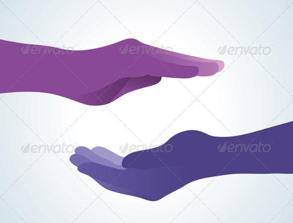 GraphicRiver Meditation Hand 757506