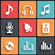 Music Icons & Symbols - GraphicRiver Item for Sale