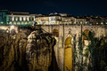 The New Bridge Ronda, at night - PhotoDune Item for Sale