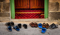 Sandals outside a Mosque - PhotoDune Item for Sale