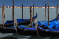 Gondolas Moored, Venice - PhotoDune Item for Sale
