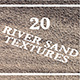 River Sand - 20 Textures - GraphicRiver Item for Sale