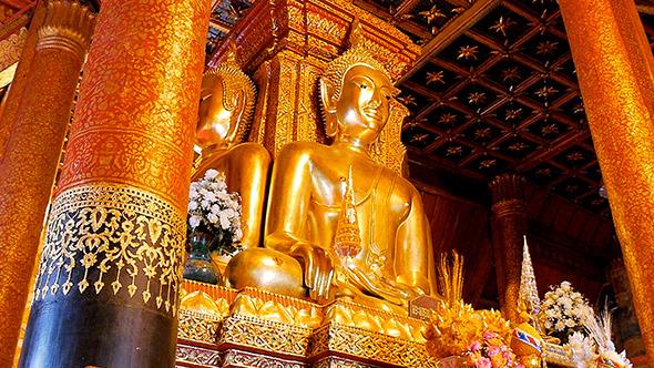 Buddhist Temple Wat Phumin Nan