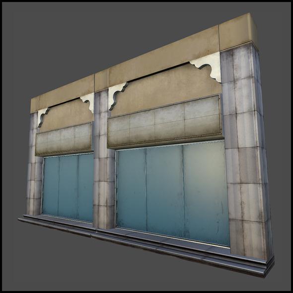 Shop Set 01 - 3DOcean Item for Sale