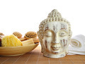 Bath accessories with Buddha statue - PhotoDune Item for Sale