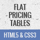 Flat, responsive pricing tables - CodeCanyon Item for Sale