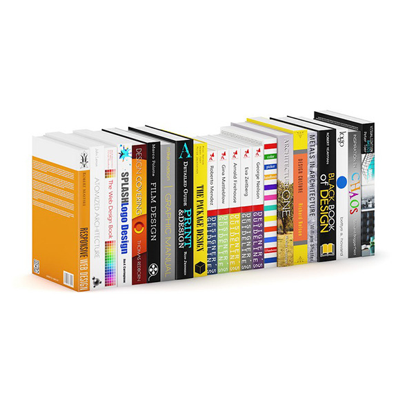Architecture and Design Books 3 - 3DOcean Item for Sale