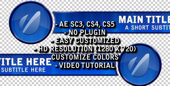 VideoHive After Effects Project - Round Lower Third 2 757761