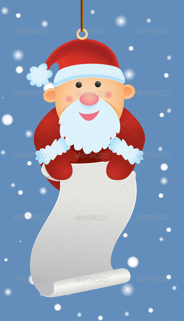 Graphic River Santa Ornament Vectors -  Conceptual  Seasons/Holidays  Christmas 757763