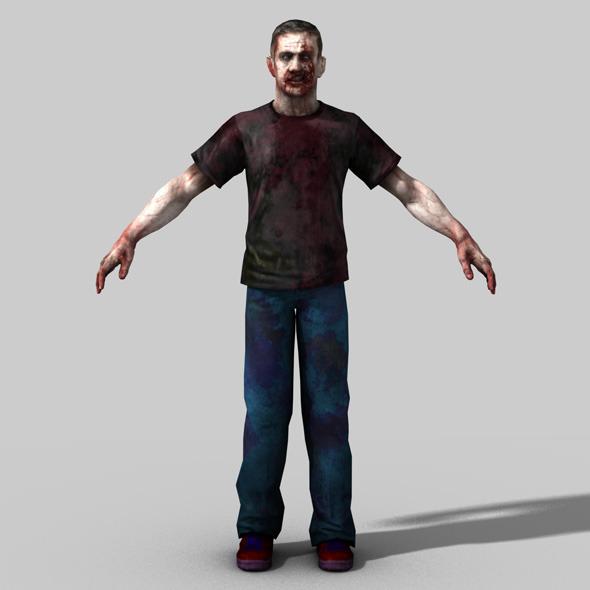 3DOcean 3D Model of Zombie 757767