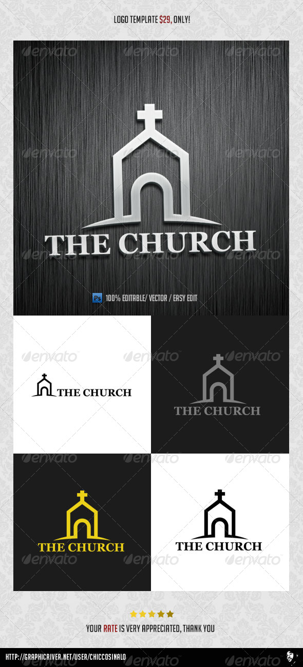 The Church Logo Template - Abstract Logo Templates