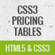Pure CSS3 pricing tables - CodeCanyon Item for Sale